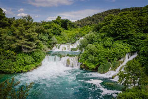 The Waterfalls Of Krka National Park Croatia