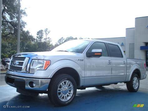 2011 ingot silver metallic ford f150 lariat supercrew