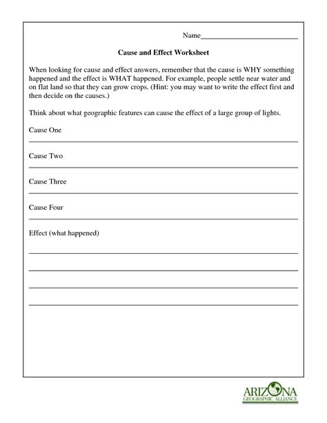 16 Best Images Of Basic Cause And Effect Worksheets  Cause And Effect Worksheets 2nd Grade