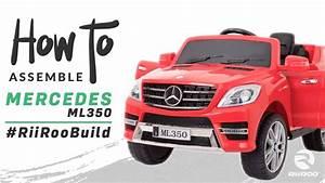 Mercedes Ml350 Kids 12v Battery Electric Ride On Car