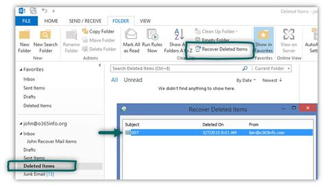 Office 365 Outlook Deleted Items by Recover Deleted Mail Items Office 365 4 7 O365info