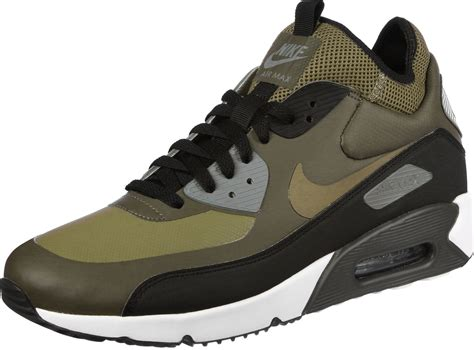 Nike Airmax 90 Motif nike air max 90 ultra mid shoes olive green black