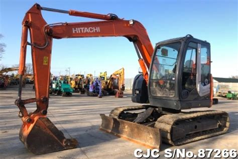 hitachi zxus excavator  sale  model cjc  japanese  machinery