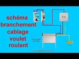 Branchement Volet Roulant électrique : schema branchement cablage volet roulant electrique youtube ~ Melissatoandfro.com Idées de Décoration
