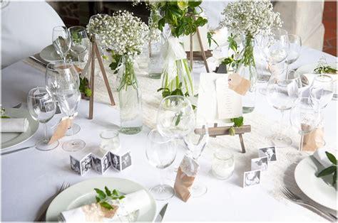 decoration table mariage fleurs naturelles