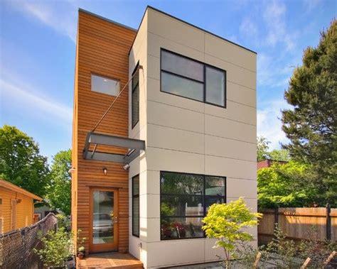 narrow lot plan modern home design exteriors pinterest