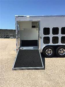 2016 sct envy canine trailer for sale at shetron custom With air conditioned dog trailer