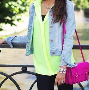 neon fashion on Tumblr