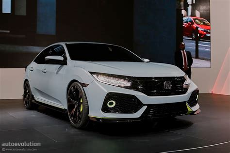 nissan civic 2017 2017 honda civic hatchback previewed by concept in geneva