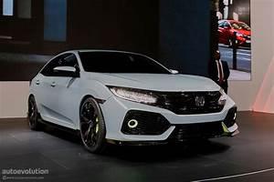 Honda Civic Hatchback : 2017 honda civic hatchback previewed by concept in geneva autoevolution ~ Maxctalentgroup.com Avis de Voitures