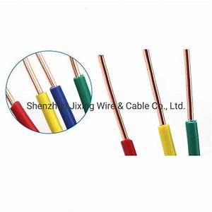 China Bv 20  19  18  16  14  12  10  8 Awg Single Core Solid Core