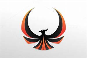 Phoenix Bird Black And White » Designtube - Creative ...