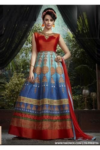 flared indian prom dresses evening multi colour
