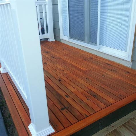 Redwood Window Sill by Decking How To Apply Deck Board Spacing For Your Outdoor