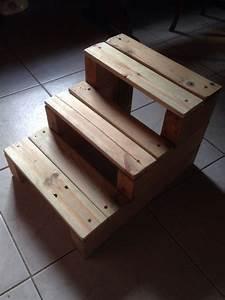 Fabrication Avec Palette : escabeau en bois de palette diy pinterest ~ Preciouscoupons.com Idées de Décoration