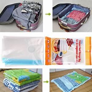 Housse Vetement Sous Vide : housse de rangement sous vide aspirateur sac compression ~ Melissatoandfro.com Idées de Décoration