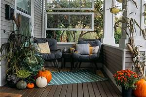 Fall, Front, Porch, Decorating, Ideas