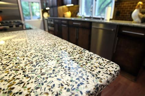 made countertop materials countertops made of recycled material