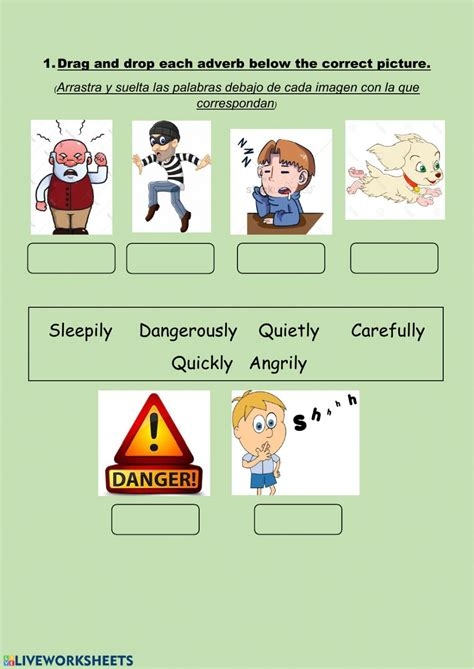 adverbs  manner exercise