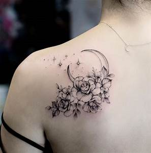 26 Awesome Floral Shoulder Tattoo Design Ideas For Woman ...