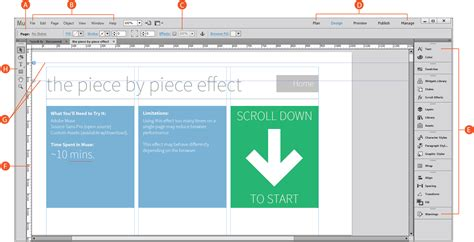Adobe Muse Use The Plan Design Preview And Publish Views In Muse