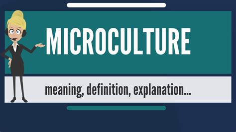 Oif Resume Definition by What Is Microculture What Does Microculture