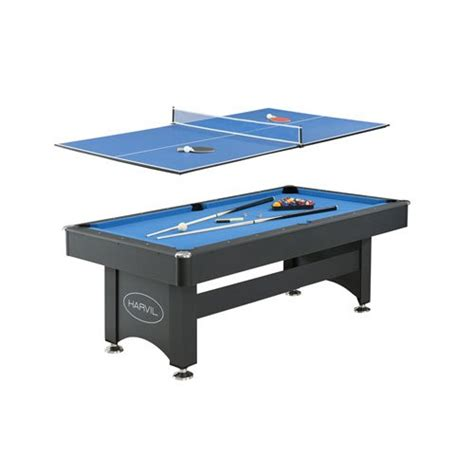 7ft pool table with table tennis top deals harvil 7 foot pool table with table tennis top
