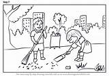 Cleaning Drawing Draw Scene Scenes Drawings Step Learn Tutorials Toys Paintingvalley sketch template