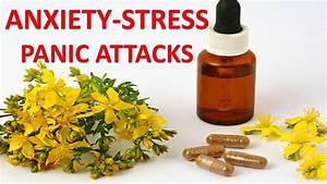Natural Supplements  Vitamins And Herbs For Anxiety  Panic Attacks And Stress