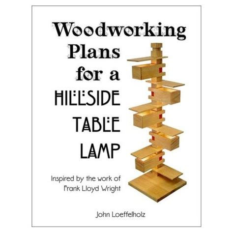 Frank Lloyd Wright Woodworking Plans   Furniture & Lighting Designs