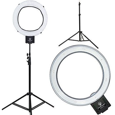 dimmable led ring light diva ring light nebula 18 led dimmable photo video ring