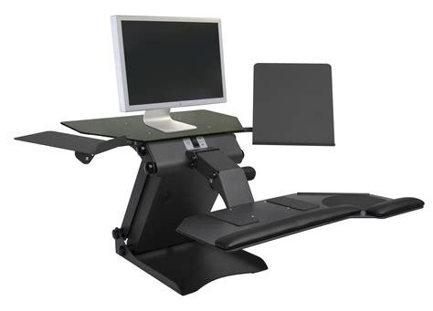 computer riser for desk taskmate executive electric desktop riser