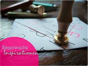 Siegelwachs Selber Machen : der kreativblog rund um das theama bullet journal und die welt der planer planer liebe ~ Orissabook.com Haus und Dekorationen