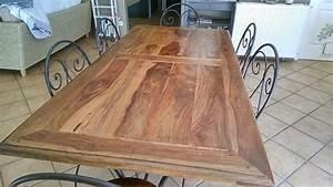 Table De Cuisine Maison Du Monde : table manger sheesham clasf ~ Teatrodelosmanantiales.com Idées de Décoration