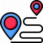 Icons Designed Map Icon