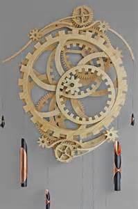 Wooden Gear Clock Plans