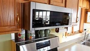 Kitchen Update Part 5 Installing The Whirlpool Microwave Range Hood Update 6  19 Dead At 15