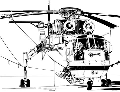 Erickson Air-Crane/Sikorsky S-64F Skycrane by bowdenja on ...
