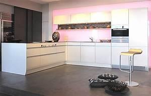 Luxuriöse Küche in L Form Luxusküchen