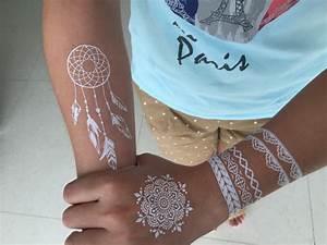 Weißes Henna Tattoo : wei e spitzen blumenhenna tattooforaweek tempor re tattoos gr te tempor rer tattoo shop ~ Frokenaadalensverden.com Haus und Dekorationen