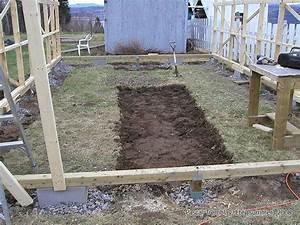 Fabriquer Une Serre En Bois : fabriquer une serre base fondation d 39 une serre en plastique ~ Melissatoandfro.com Idées de Décoration