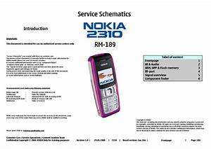 Nokia 2310 Service Manual Download  Schematics  Eeprom