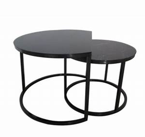 Table Basse Imitation Marbre : tables basses gigognes maoni noir imitation marbre tables basses but ~ Teatrodelosmanantiales.com Idées de Décoration