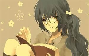 Books Glasses Meganekko Reading Readman Yomiko Read Or Die ...