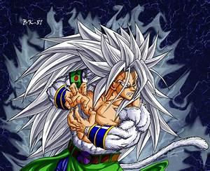 Goku Saiyan 5 Dragonball AF - Background and Wallpapers