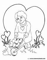 Coloring Chandelier Valentine Getcolorings Getdrawings sketch template