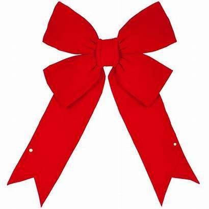 Christmas Bow Bows Ribbon Clipart Velvet Outdoor