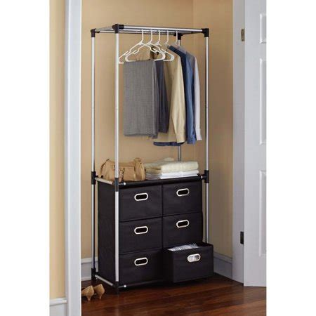 Mainstays 6 Drawer Closet Organizer, Black Walmartcom