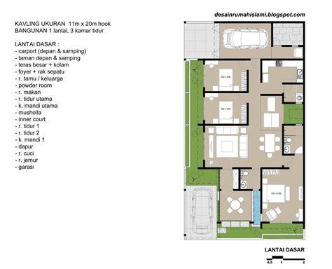 contoh desain rumah minimalis  kamar lengkap