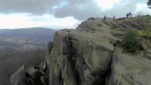 Black Rocks  Derbyshire  Quadcopter Flight